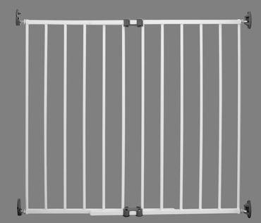 Treppenschutzgitter Türgitter S-Gate Reer Premium Simple-Lock  Metall – Bild 2