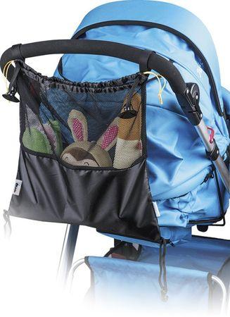 Kinderwagentasche für Buggy Ankernetz  Netz Einkaufsnetz Einkaufstasche – Bild 3