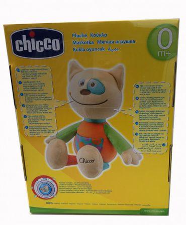 Chicco Happy Colours Kuscheltier Katze – Bild 2