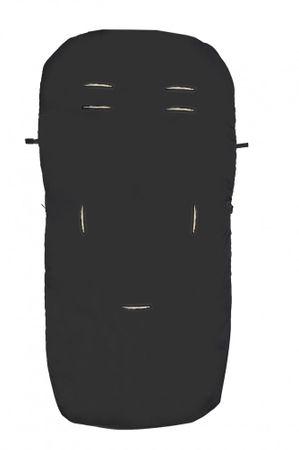 Altabebe Lammfell-Fußsack Nordkap  schwarz oder beige – Bild 2