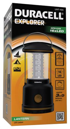 Duracell Explorer mit 16 LED´s die perfekte Outdoor- Camping- Notfalllampe – Bild 2