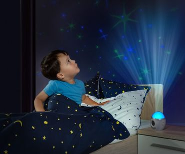 Reer Nachtlicht My Magic Starlight bunter Sternenhimmel + Musik B-Ware – Bild 6