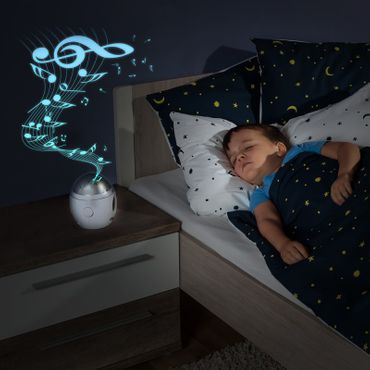 Reer Nachtlicht My Magic Starlight bunter Sternenhimmel + Musik B-Ware – Bild 5