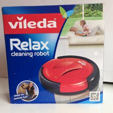 Vileda Relax 3-Stufen Saugroboter 3-Stufen-Reinigung, Staubsauger, Cleaning Robot