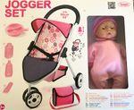 Puppenwagen mit Puppe Bayer Chic Jogger Set Buggy mit Puppe 001