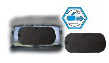 Auto-Sonnenschutz Schwarz HECKSCHEIBE mit UV-Schutz – Bild 2