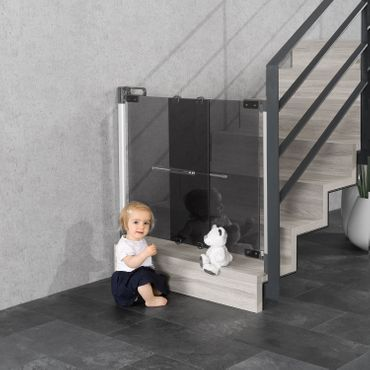 Reer Tür-/ Treppenwächter CLEARVISION Türgitter Treppengitter – Bild 2