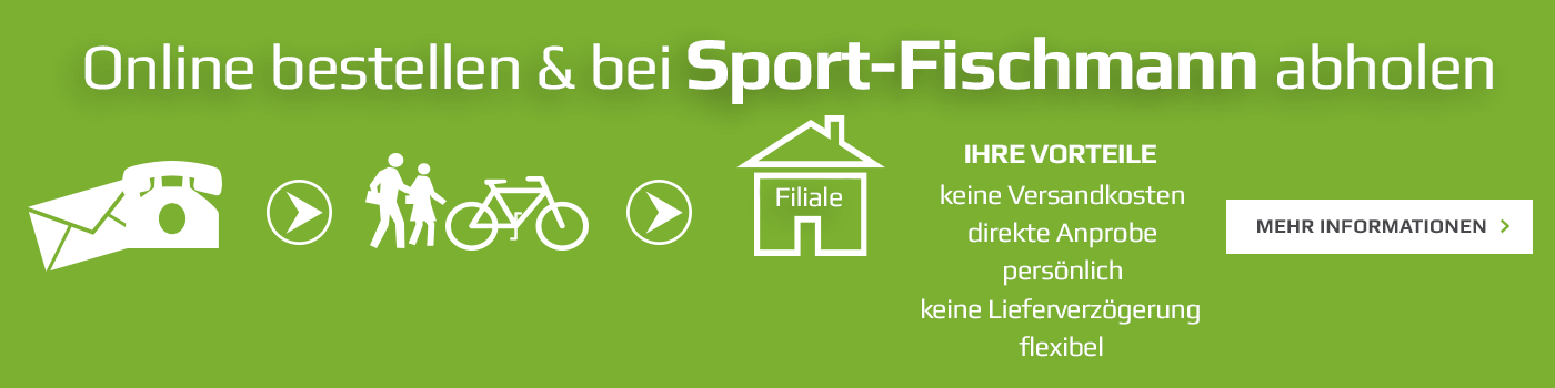 Abhole bei Sport Fischmann