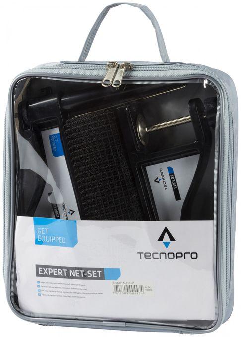 TECNOPRO Tischtennis-Netz-Set-Expert