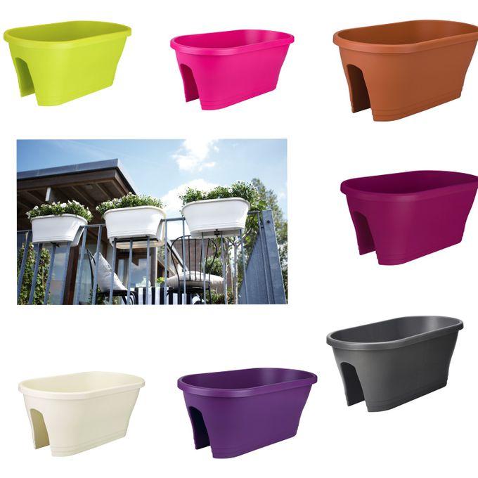 elho corsica flower bridge 60 cm gel nderblumentopf blumenkasten blumentopf ebay. Black Bedroom Furniture Sets. Home Design Ideas