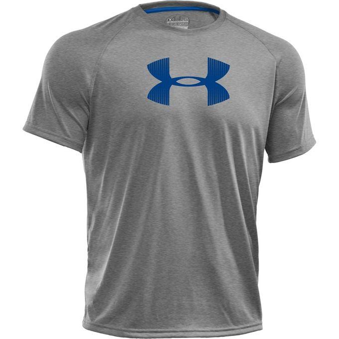 Under Armour Big Logo T-Shirt grau