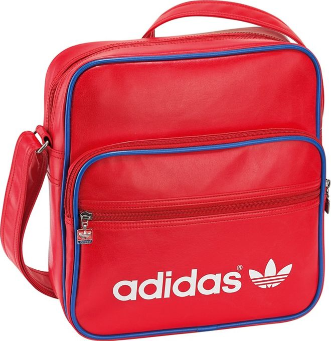 adidas ADICOLOR SIR BAG AIRLINER rot weis blau