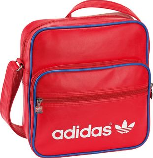 adidas ADICOLOR SIR BAG AIRLINER rot weis blau 001