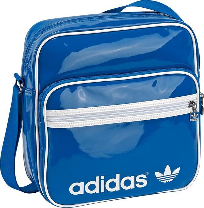 adidas ADICOLOR SIR BAG AIRLINER blau lack