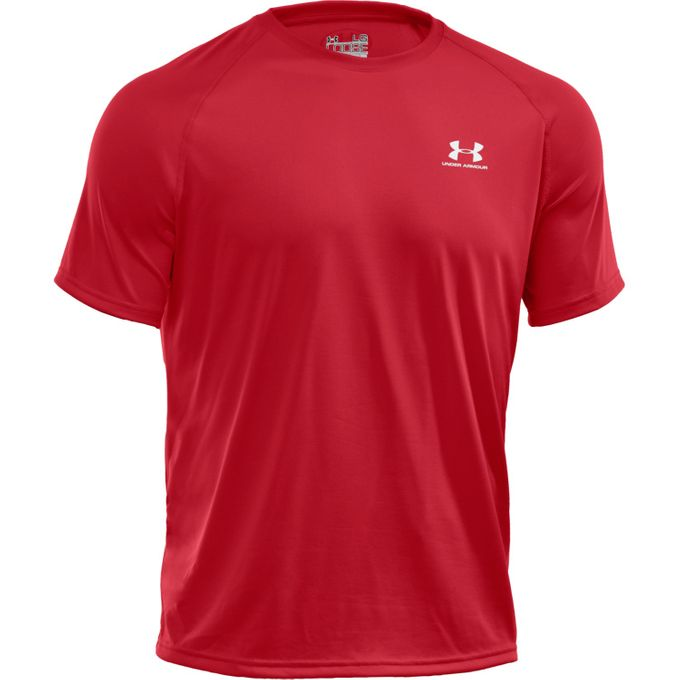Under Armour New EU Tech SS T-Shirt rot