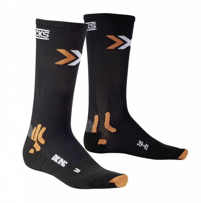 X-Socks Radsocken Bike Mid Energizer schwarz