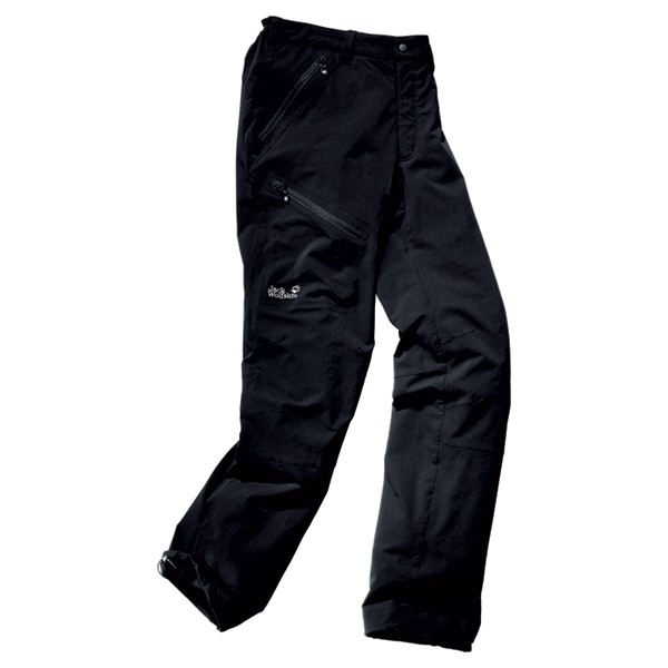 Jack Wolfskin Softshell Hose Activate Pants Women black