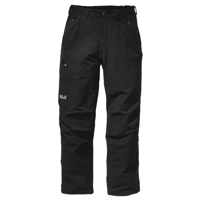 Jack Wolfskin Softshell Hose Activate Pants Men black