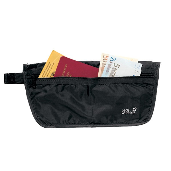 JACK WOLFSKIN Gürteltasche Document Belt black