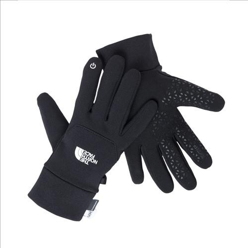 The North Face Etip Glove Touchscreen Handschuhe black KINDER