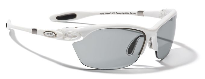 Alpina Sonnenbrille Twist Three 2.0 VL white CV