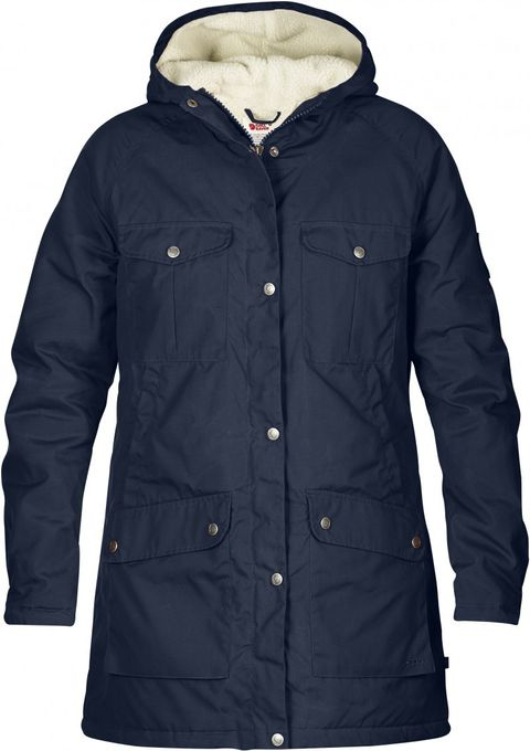 Fjäll Räven Herren Parka Greenland Winter dark navy