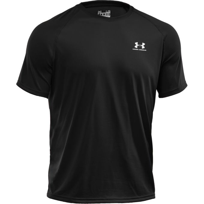 Under Armour New EU Tech SS T-Shirt schwarz