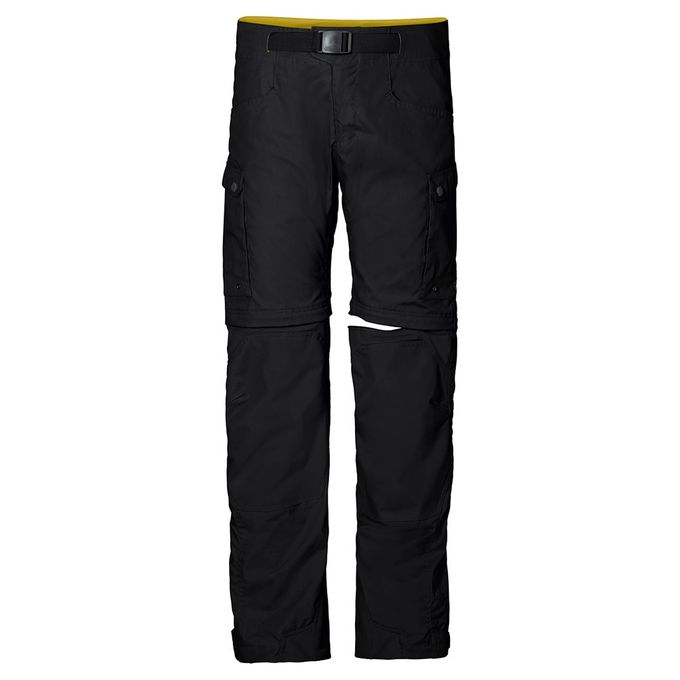 Jack Wolfskin All Terrain Zip Off Pants M - black