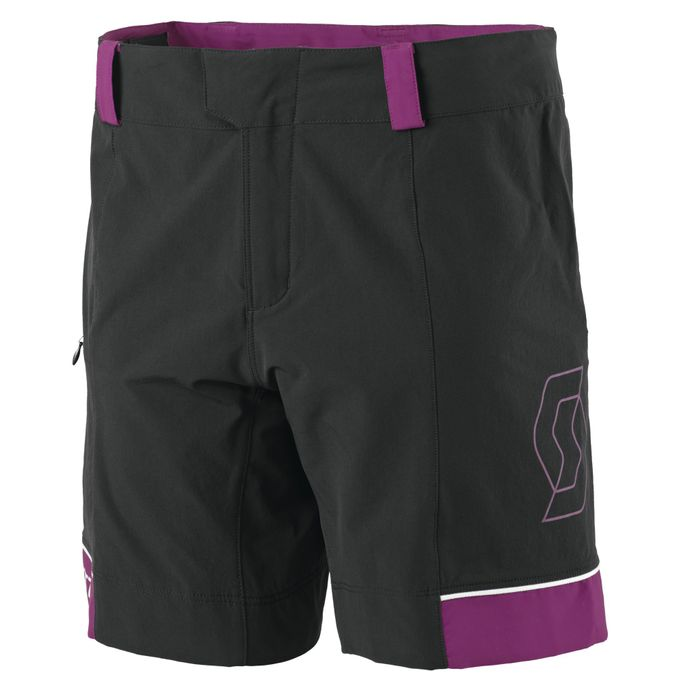 SCOTT Radhose Endurance 10 LS/FIT Damen Shorts black/berry purple