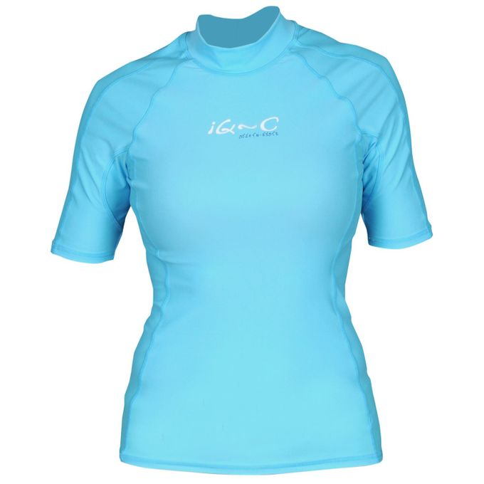 iQ UV 300 Shirt Slim Fit Damen turquoise