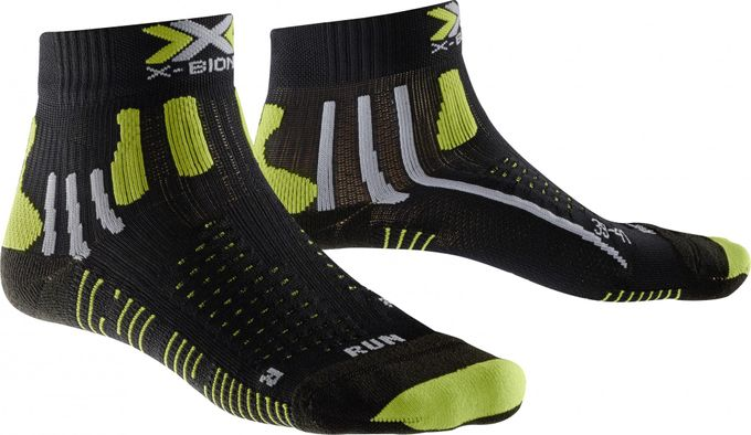X-Socks Effektor Running Short Man black/acid green
