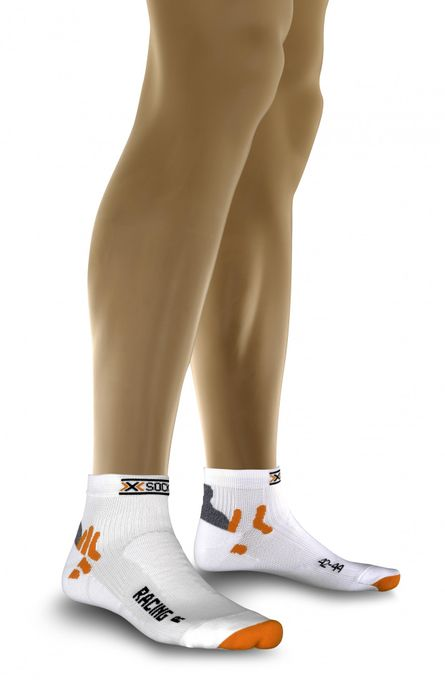X-Socks Socks Biking Racing white/grey  X-Bionic