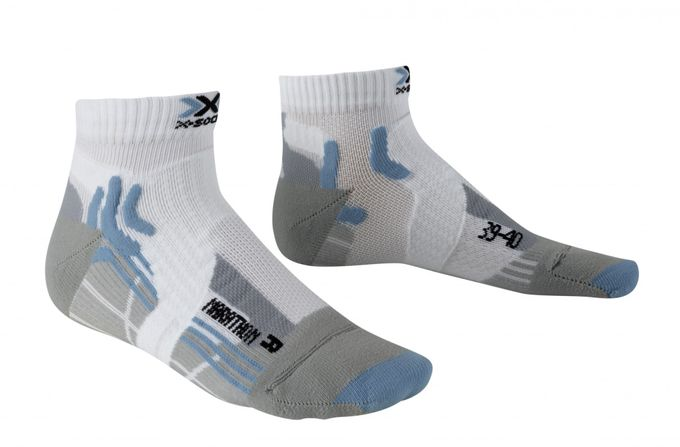 X-Socks Marathon Lady white/sky blue