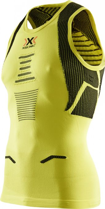 X-Bionic The Trick Running Shirt Man green sheen/black