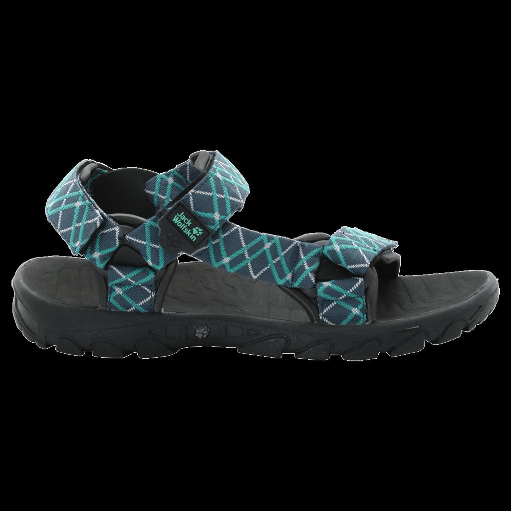 jack wolfskin seven seas frauen sandalen deep mint. Black Bedroom Furniture Sets. Home Design Ideas