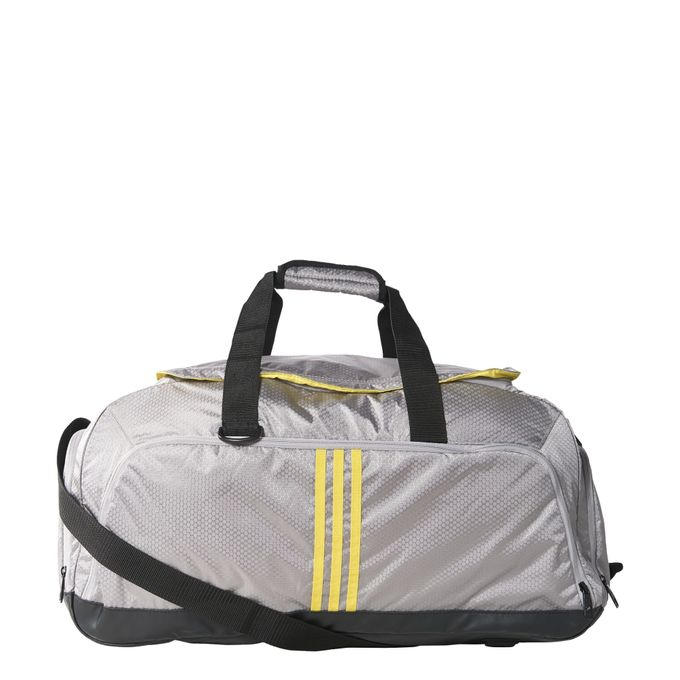 adidas Performance 3S Teambag solid grey/bright yellow/bright yellow