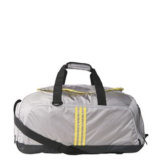 adidas Performance 3S Teambag solid grey/bright yellow/bright yellow 001
