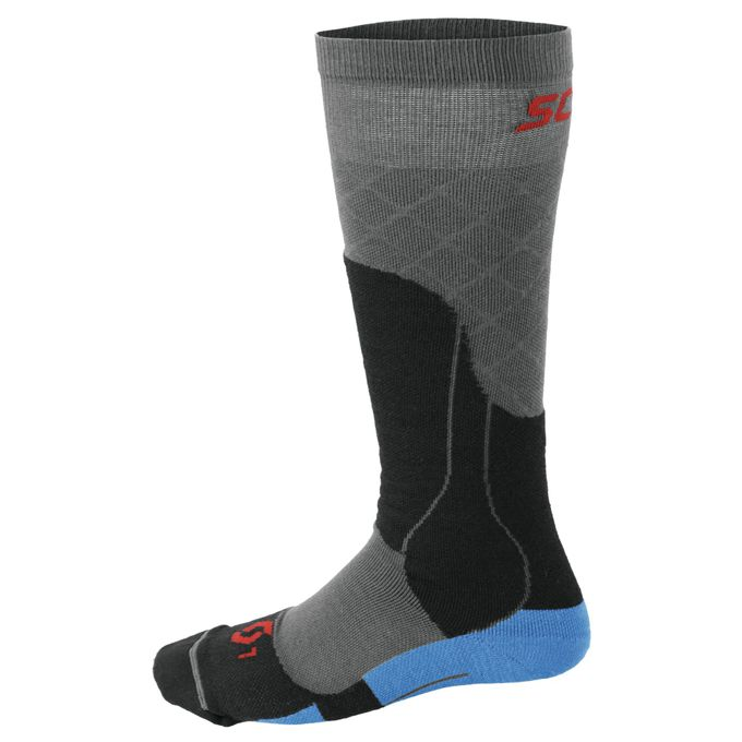 SCOTT MTN TECH MEDIUM SOCKEN blue