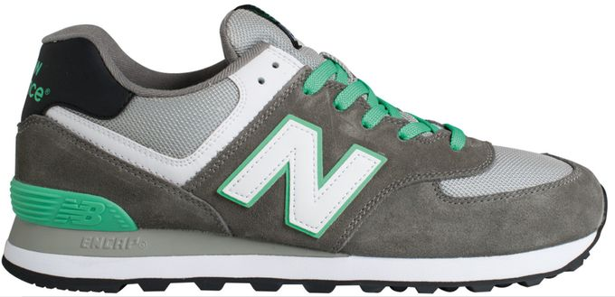 New Balance 574 Core+ Man navy grey green