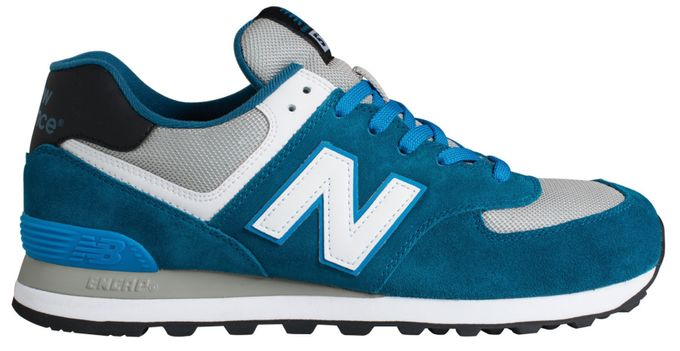 New Balance 574 Core+ Man navy blue grey