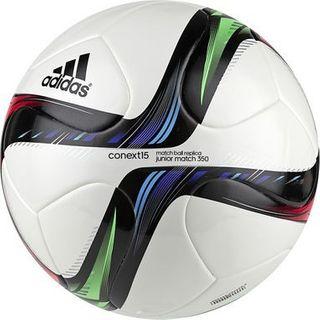 adidas CONEXT15 Junior Match 350 white/night flash s15/flash green s15/black 001