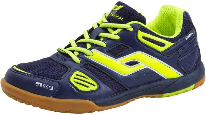 PRO TOUCH Kinder Indoor-Schuhe Rebel III Jr. blau/gelb