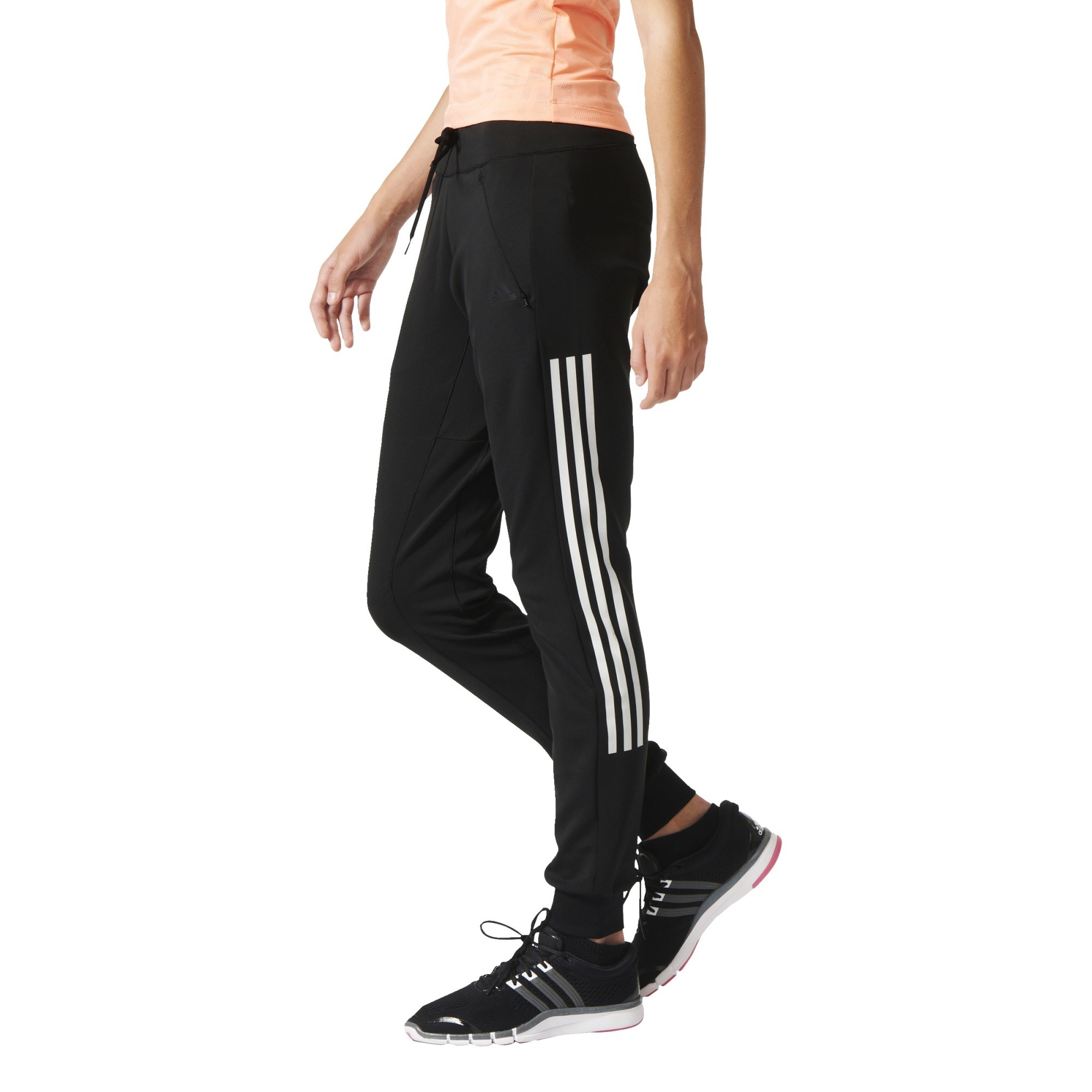 best loved 1dd11 759e2 adidas GYM CUFFED PANT Damen Trainingshose Jogginghose   eBay
