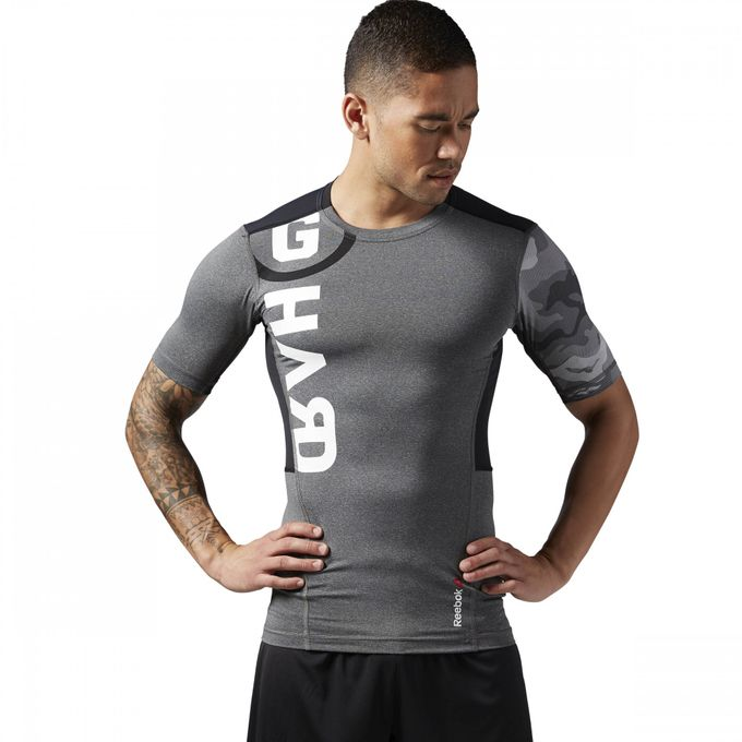 Reebok ONE Series ACTIVChill PW3R Short Sleeve Compression Top