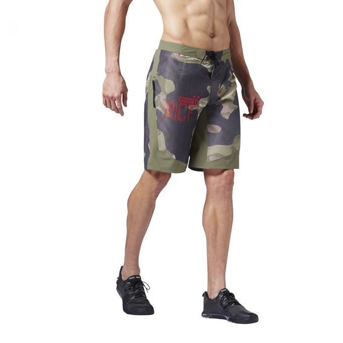 Reebok CrossFit Super Nasty Tactical Camo Boardshort