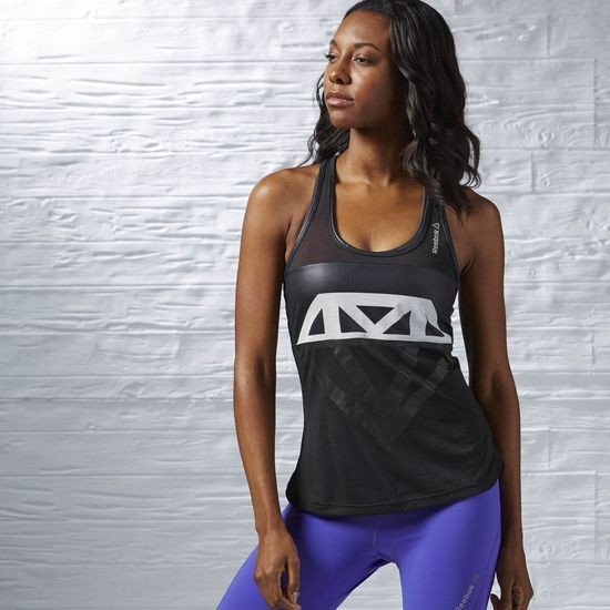 Reebok Diamond Mesh Graphic Tank