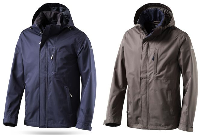 McKinley Kapuzen Outdoorjacke Diamond