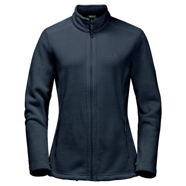 "Jack Wolfskin Fleecejacke ""Moonrise Jacket"" Damen black"