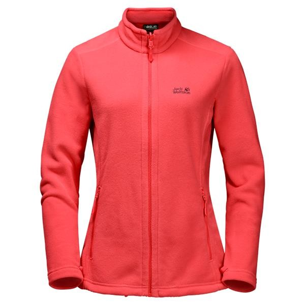 "Jack Wolfskin Fleecejacke ""Moonrise Jacket"" Damen hibiscus red"