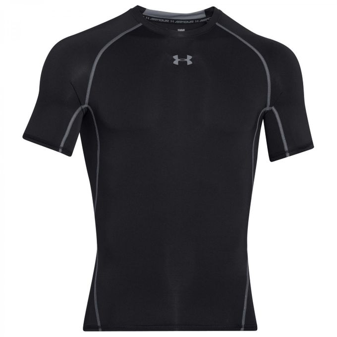 Under Armour HG Sonic COMPRESSION  T-Shirt schwarz